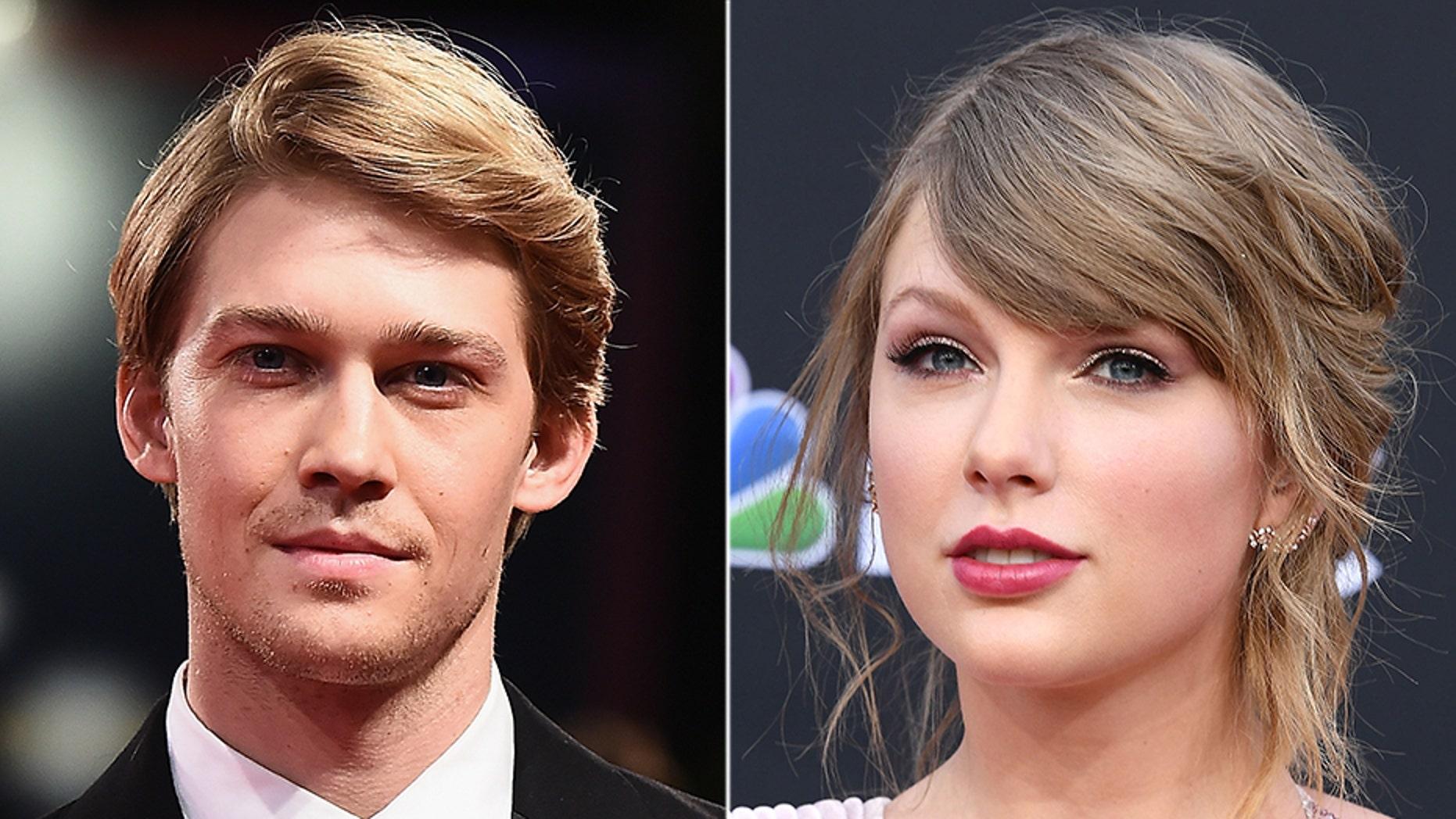 Taylor Swift gave boyfriend Joe Alwyn a rare shout-out on social media on Thursday.