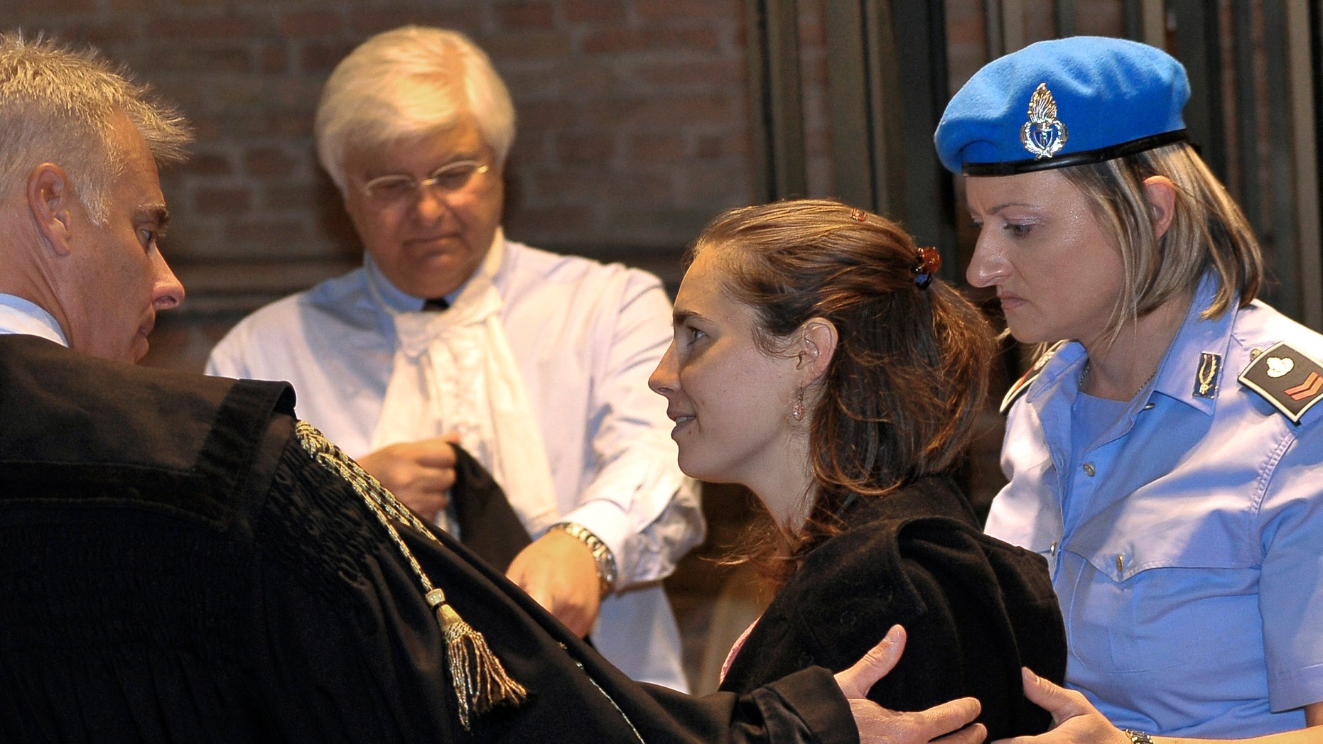 September 27: Amanda Knox, the american student convicted of killing her British roomate, arrives at the Perugia court in Italy.