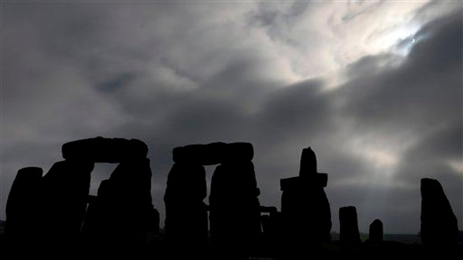 Stonehenge, Salisbury Plain, England is shown on Friday March 20, 2015.