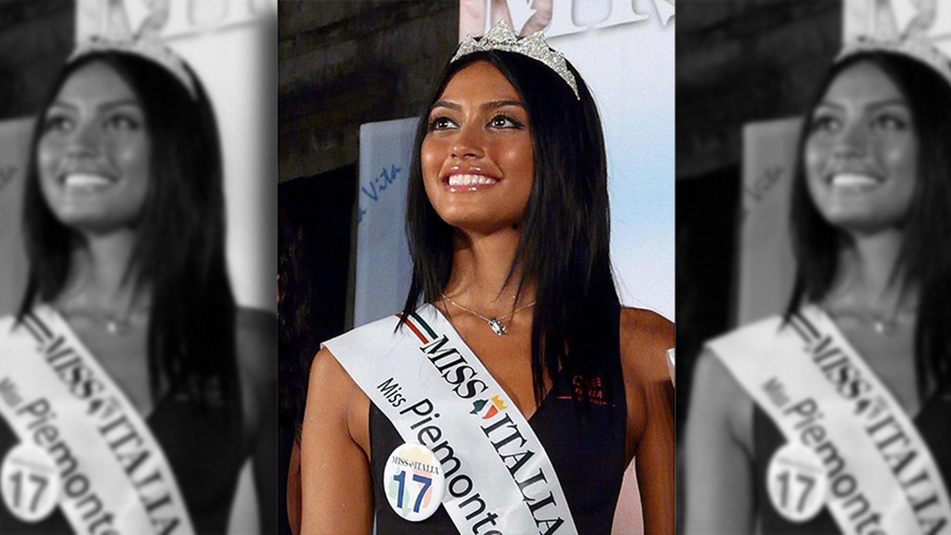 Italy, Milan - April 13, 2011.Ambra Battilana, involved in Berlusconi's sex affaire..File from facebook. (Credit Image: ©  via ZUMA Press)