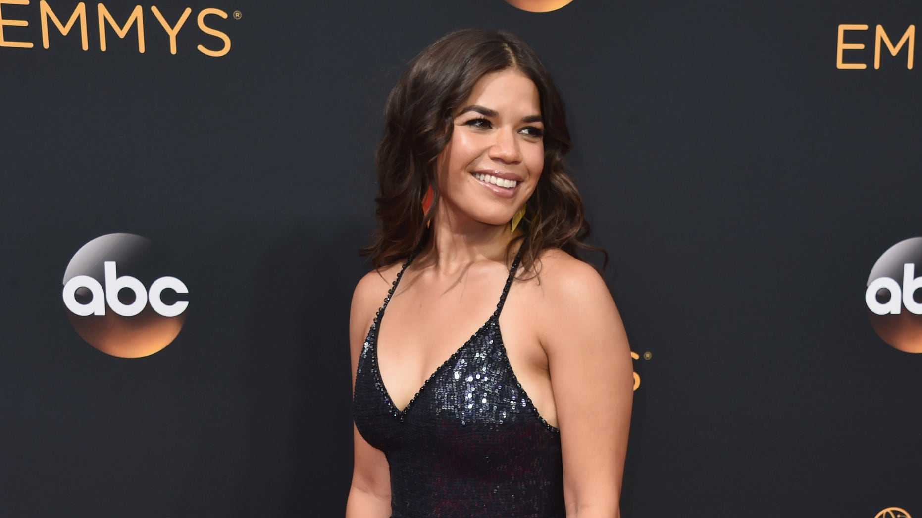 America Ferrera at the Emmy Awards on September 18, 2016 in Los Angeles, California.