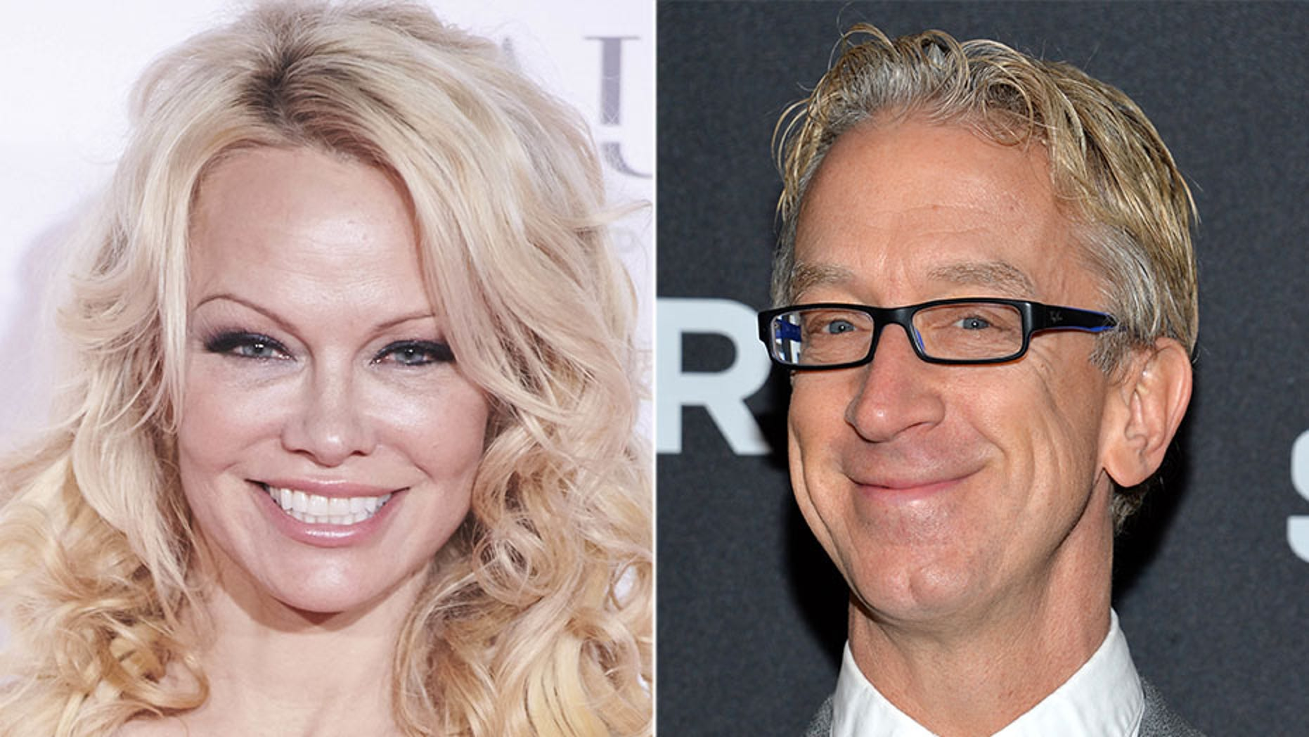 A resurfaced video showed Andy Dick groping Pamela Anderson's breasts.