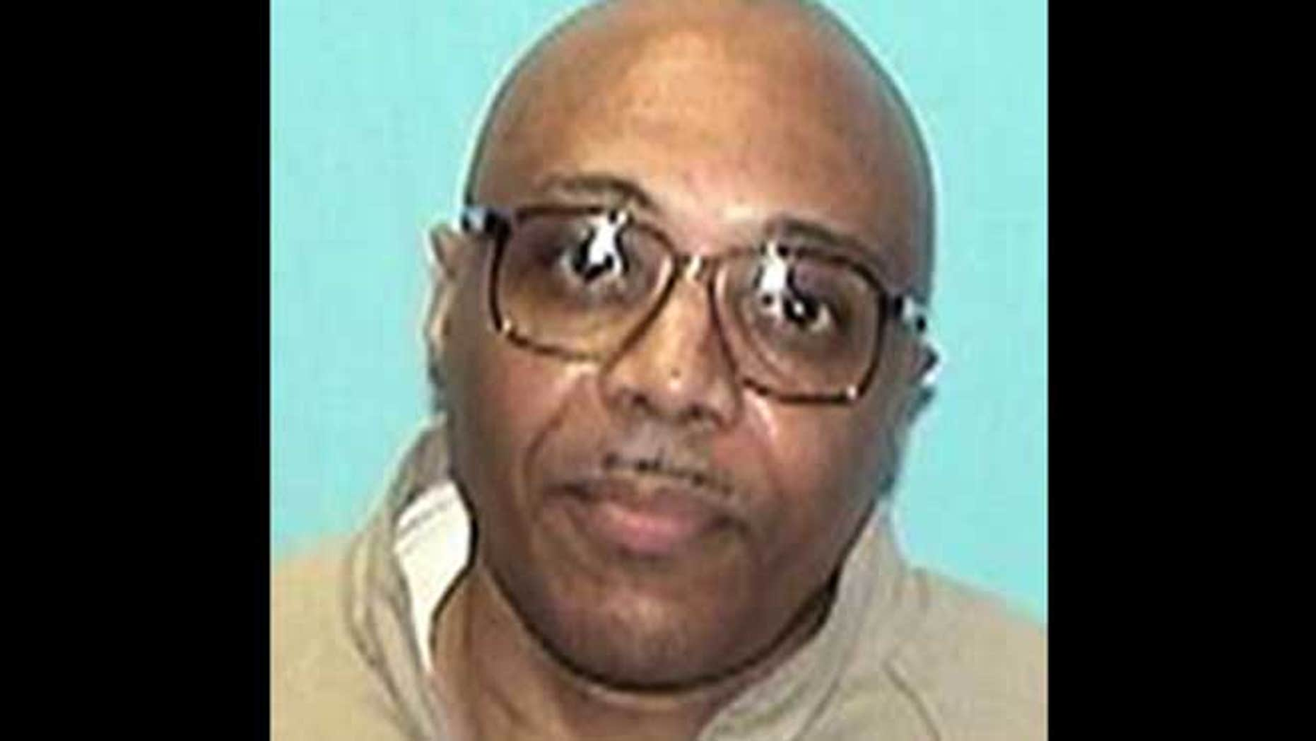 This undated photo provided by the Illinois Department of Corrections shows inmate Andre Davis.