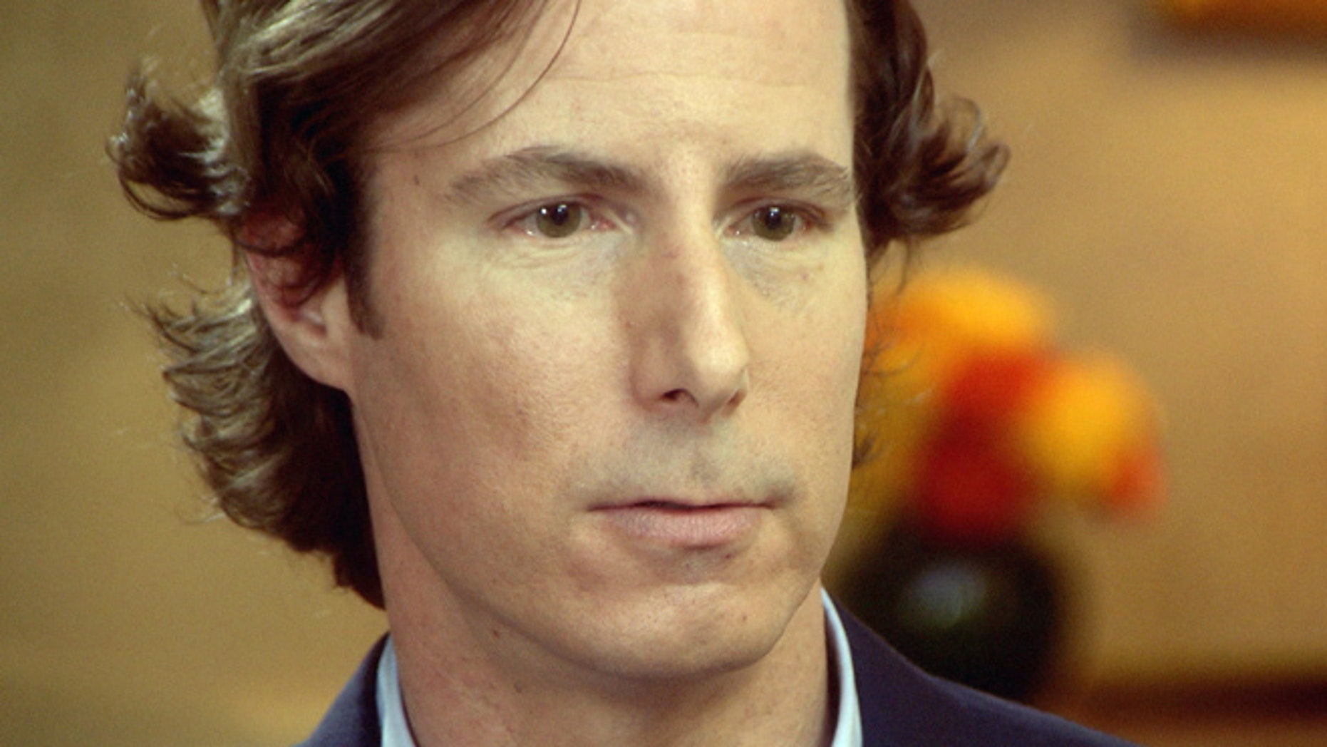 """FILE 2011: Andrew Madoff, son of disgraced financier, Bernard Madoff, talks to """"60 Minutes"""" in New York."""