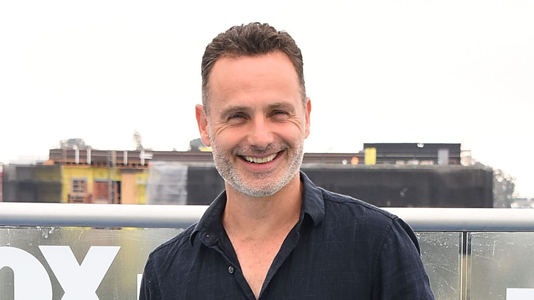 """The Walking Dead"" star Andrew Lincoln."