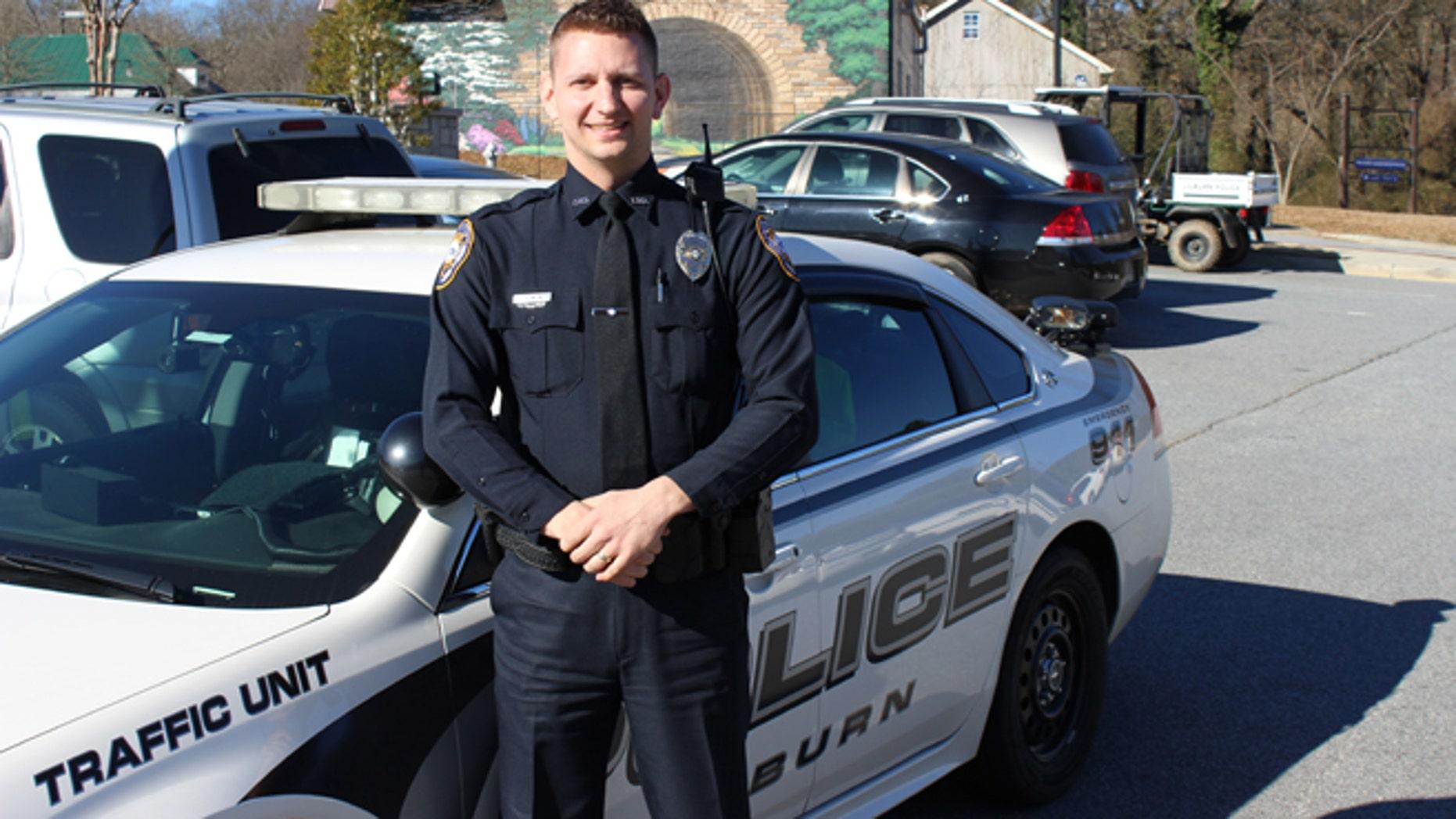 Officer Andy Blimline.