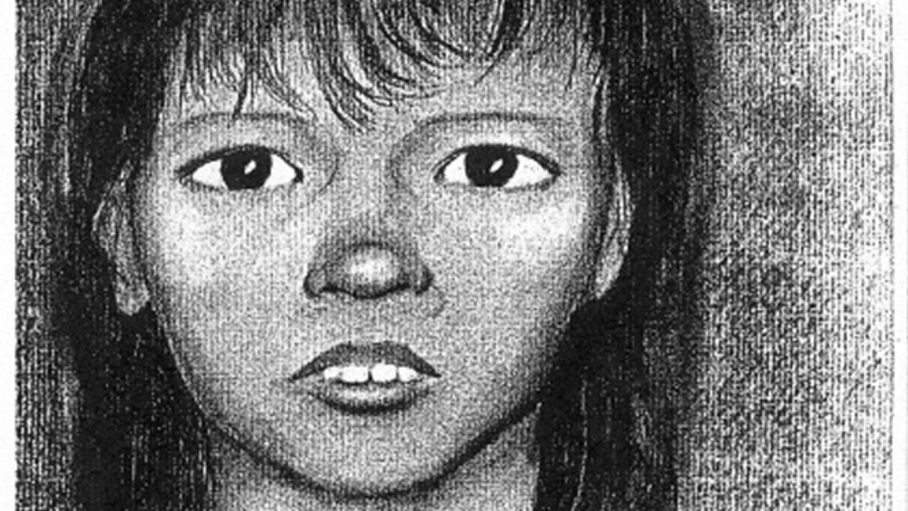 On Tuesday, July 23, 1991 on the embankment of the Henry Hudson parkway S/B of the Dyckman toll plaza the remains of Jane Doe(Baby Hope) were discovered.  Baby Hope was found inside of a Blue and White cooler.  She was malnourished, approximately 25lbs at the time of her death, was determined to be 4 to 4 1/2 years of age and had dark brown or black hair.