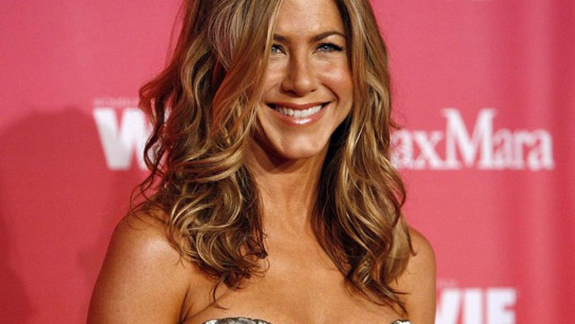 """Jennifer Aniston is promoting her new film """"The Switch."""""""