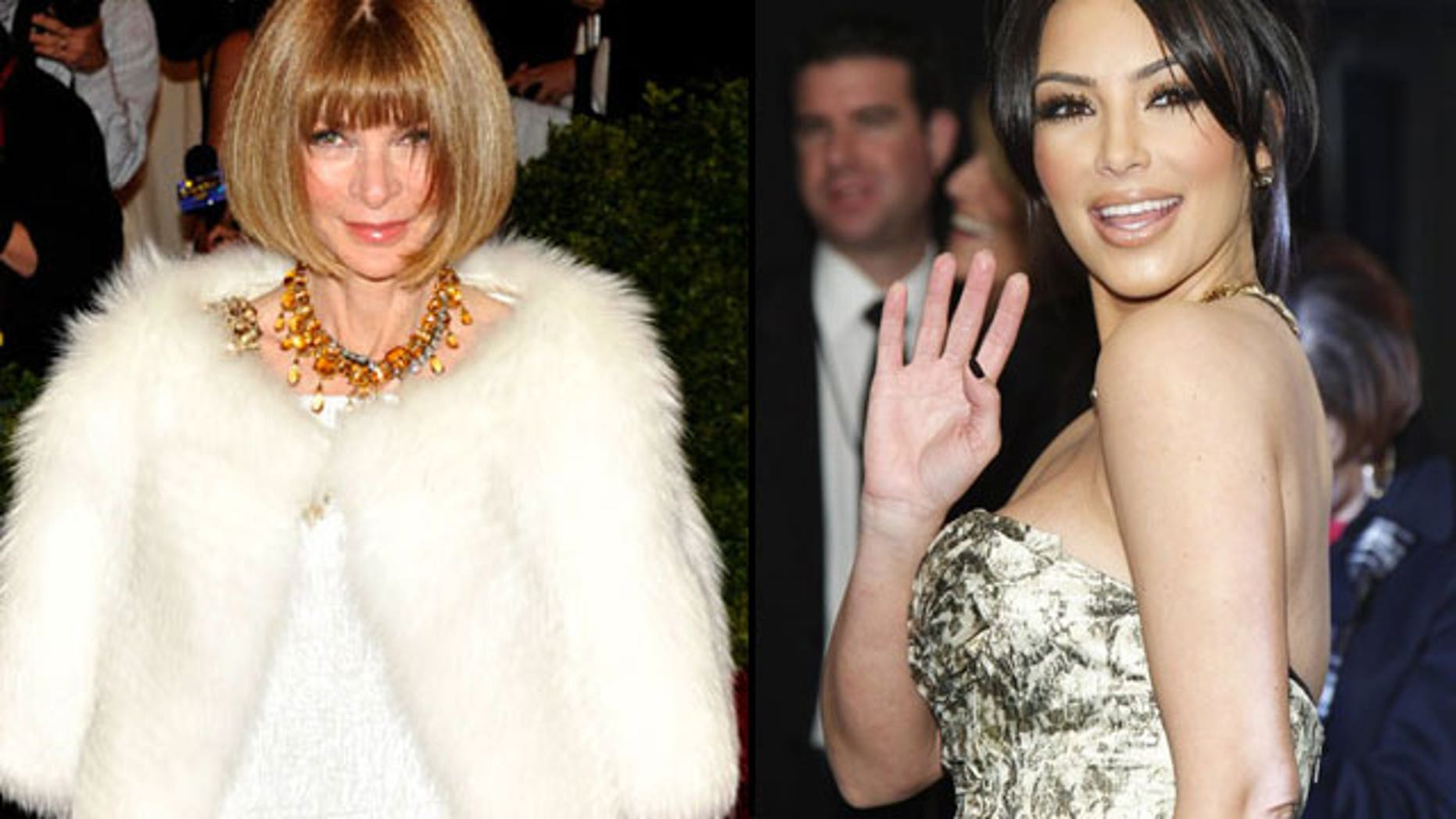 Anna Wintour is reportedly not a fan of Kim Kardashian.
