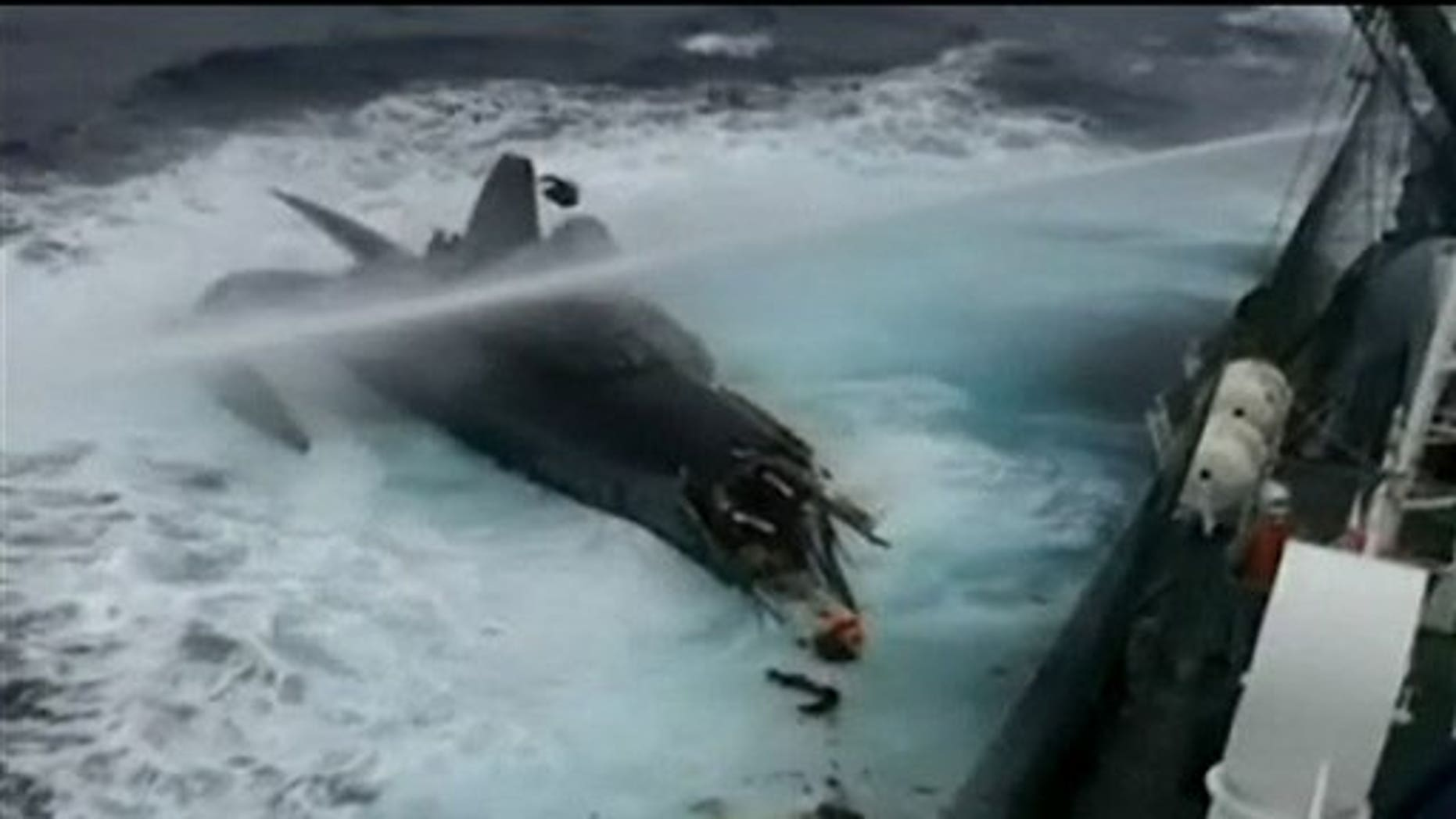 A still from 'Whale Wars.' (Discovery)