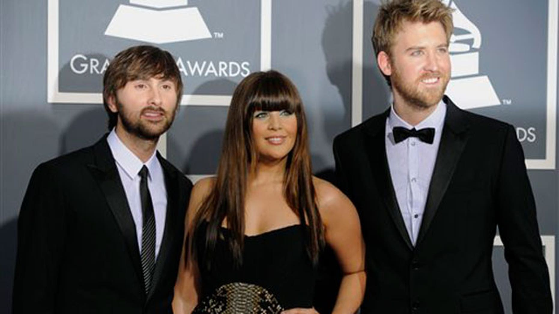 Lady Antebellum at the Grammy Awards.
