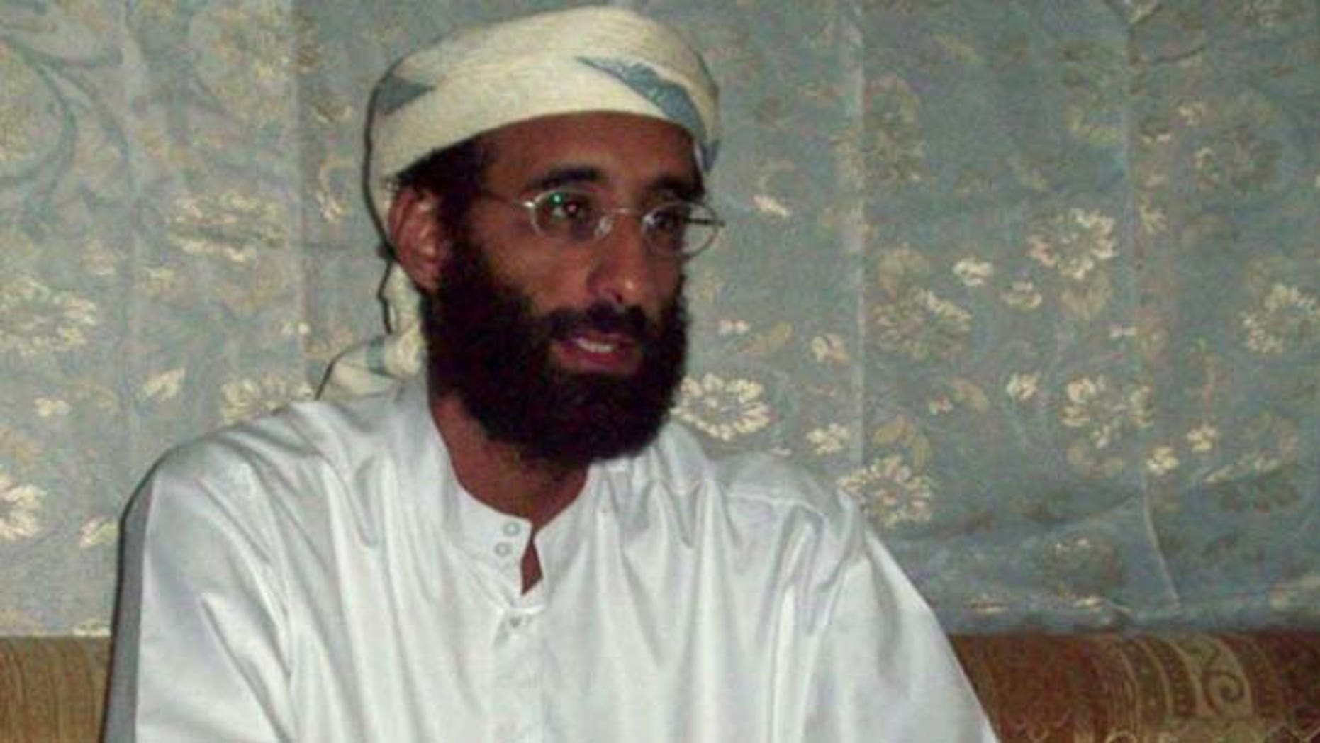American Muslim cleric Anwar al-Awlaki, seen in this 2008 file photo, was killed by a U.S. drone strike in Yemen in 2011. (AP)