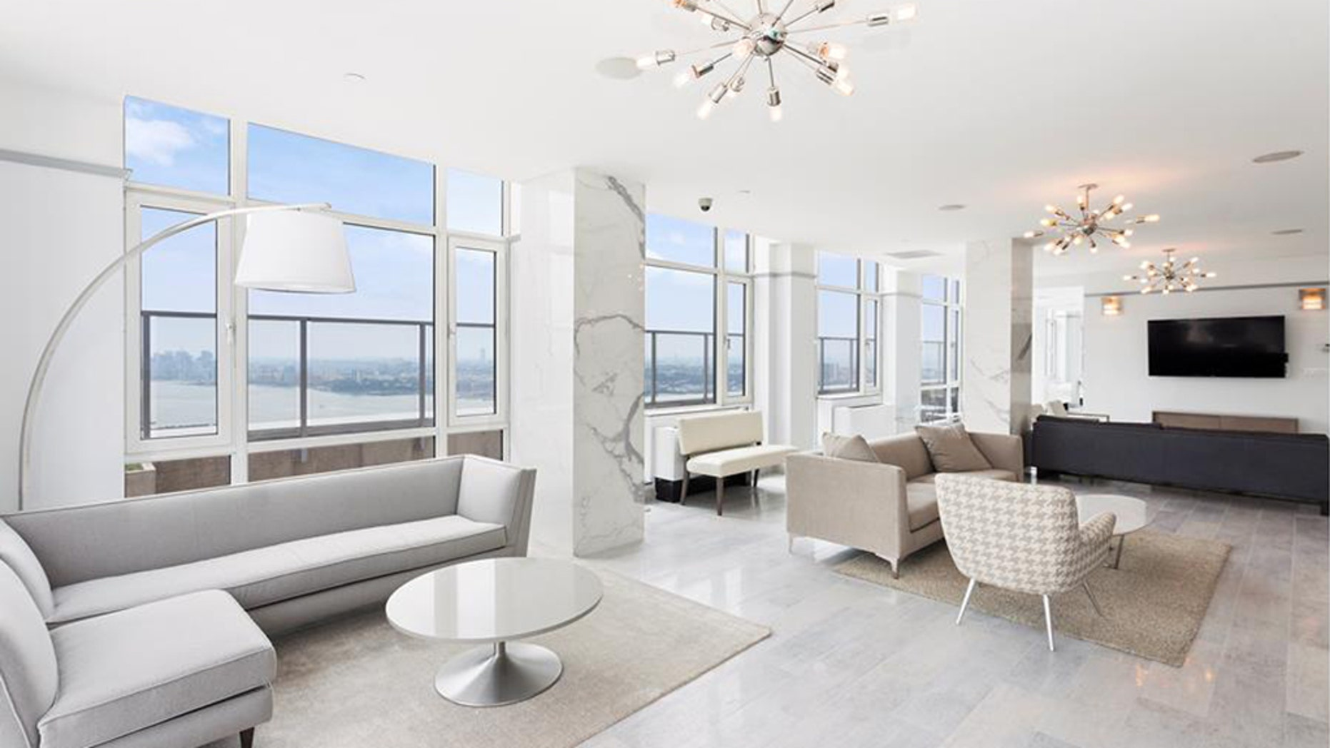 With an asking price of $85 million, the 15,000-square-foot duplex penthouse at the Atelier in New York City costs $5,666 per square foot.