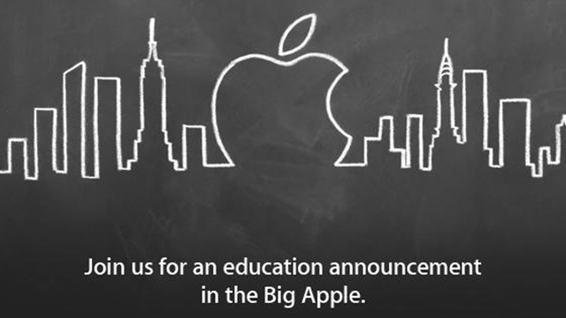 Apple plans an education-focused press event for Thursday, Jan. 19 -- an event many are speculating Apple will use to unveil specialized ebook authoring tools.