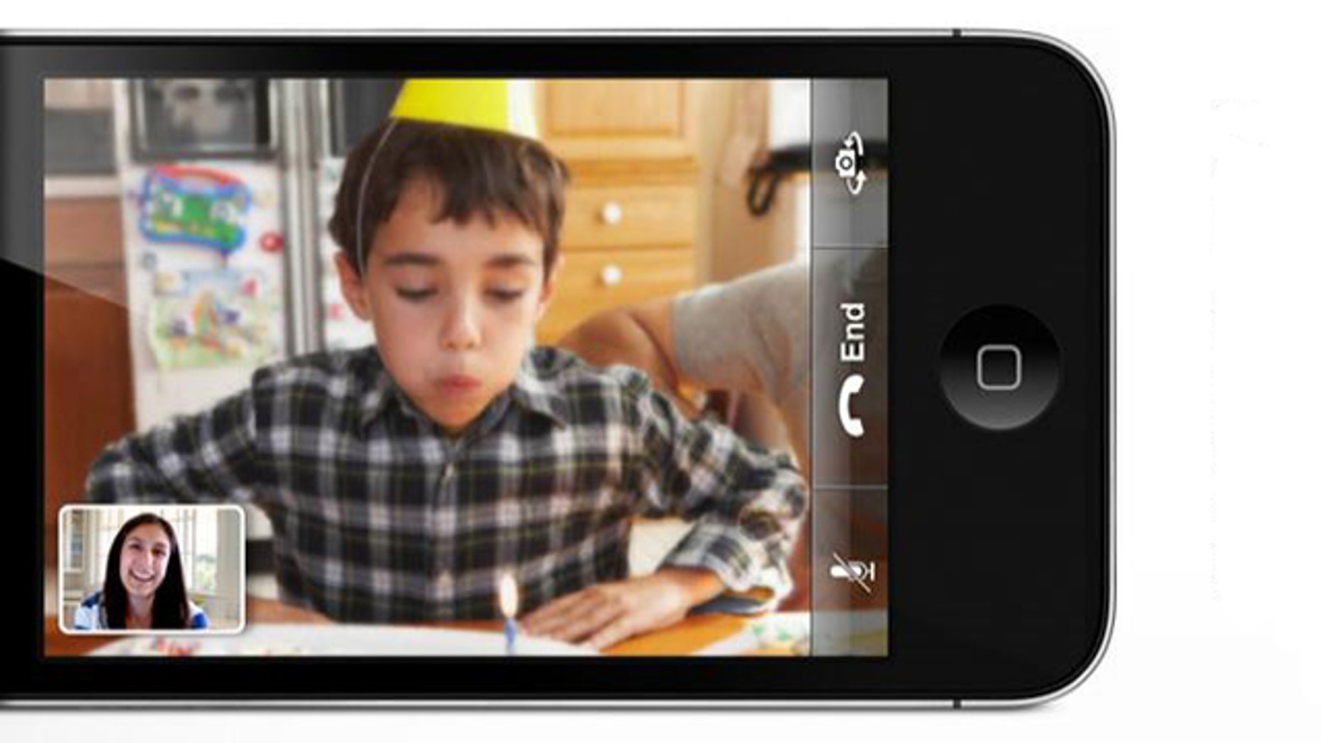 Today's smartphones are so powerful -- and internet connections so fast -- that video calls are poised to explode. Apple's FaceTime, seen here, may be just the tip of the iceberg.