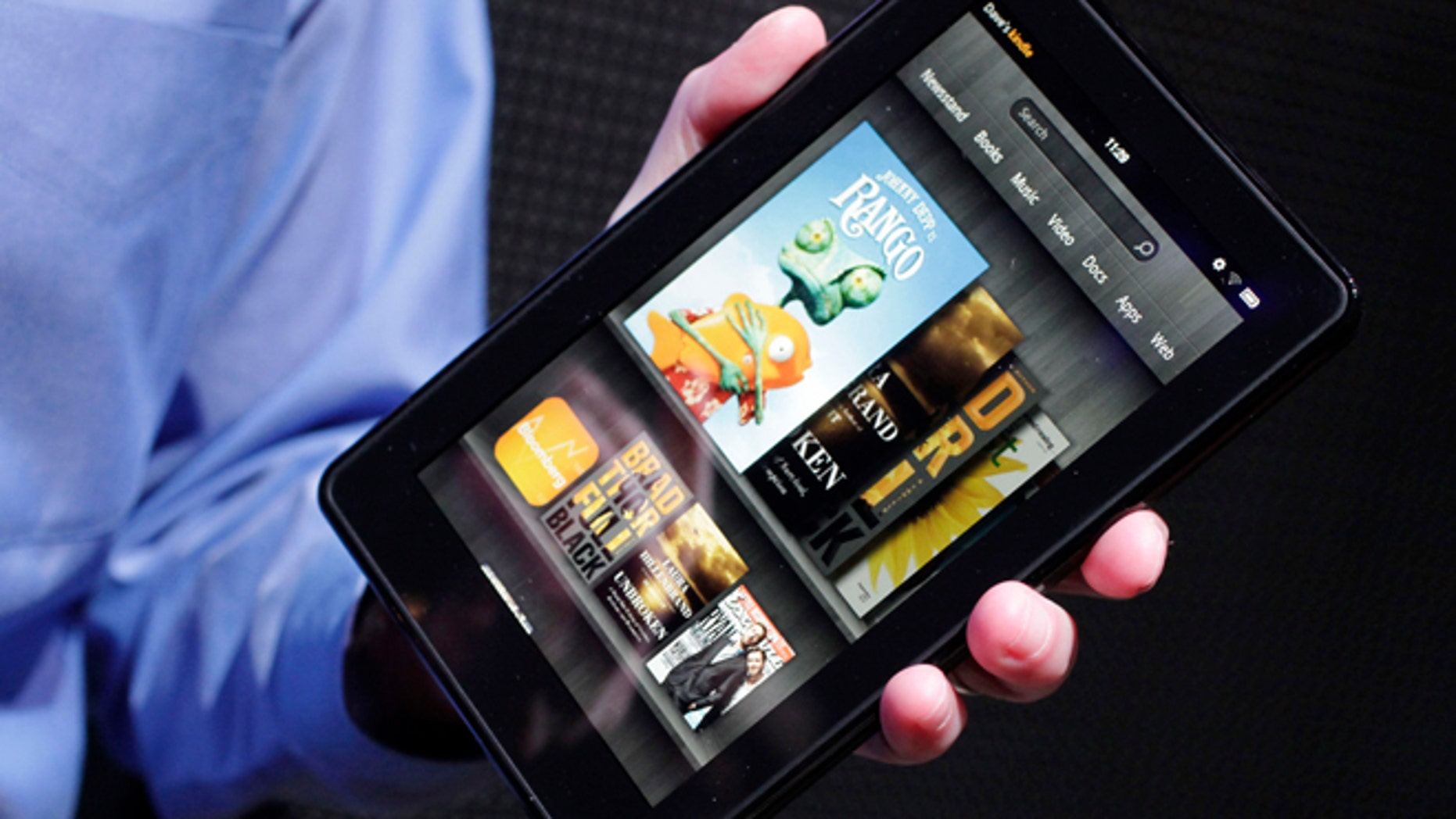 Apple has successfully fended off competitors who have tried to sell tablets in iPad's size range. But last year, Amazon.com figured out how to crack Apple's stranglehold on tablets by making a half-size, no-frills tablet. The result was the Kindle Fire, which sells for $199 -- basically, the cost of production. Amazon has sold millions of them.