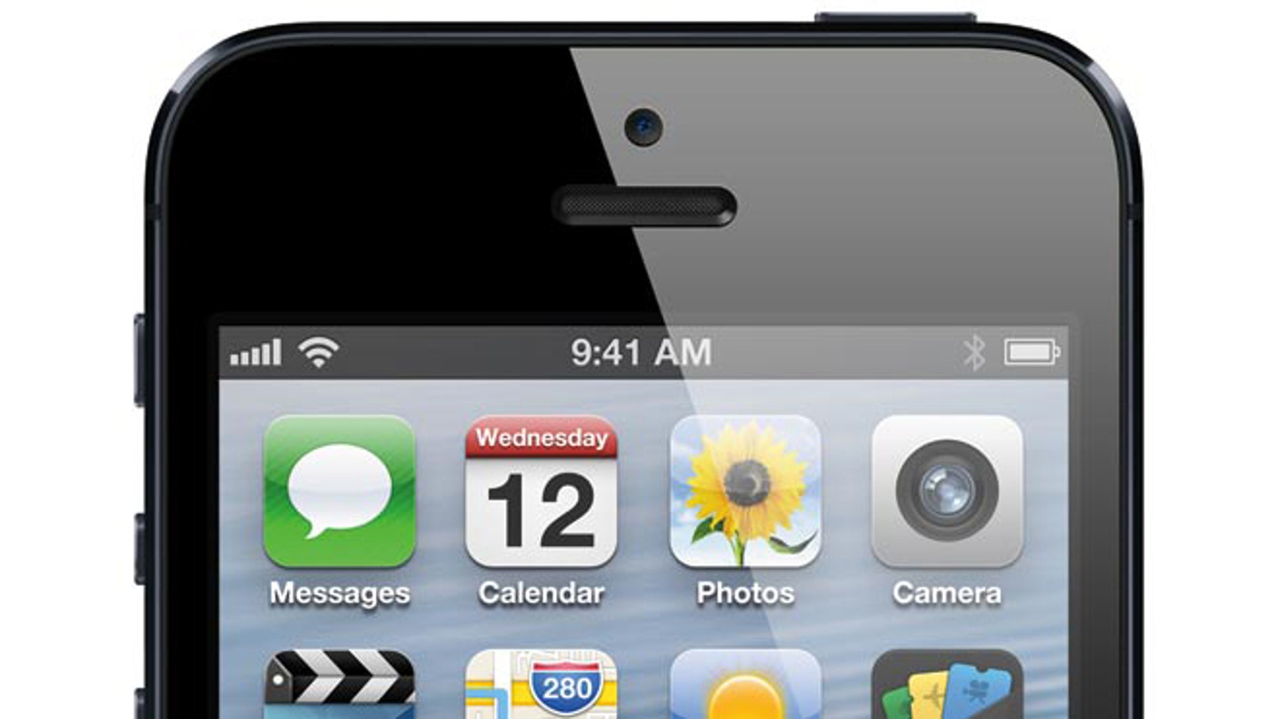 The Apple iPhone 5, the lastest smartphone from the tech giant.
