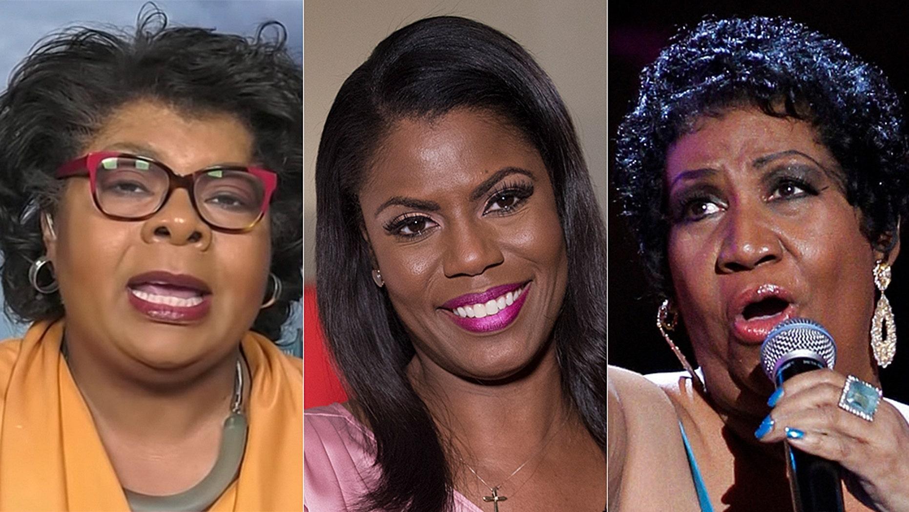 CNN star April Ryan said Omarosa Manigault Newman was vindictive about Aretha Franklin's failing health.