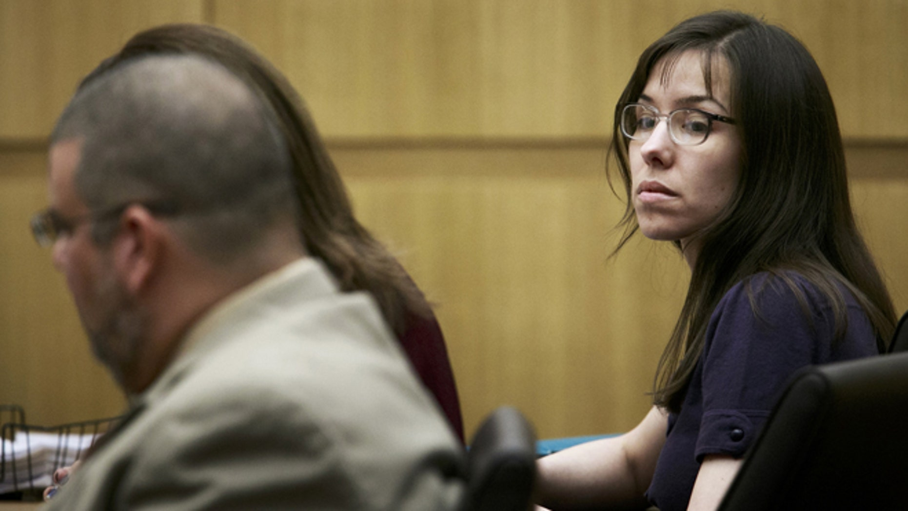 Jan. 28: Defendant Jodi Arias appears in court for her murder trial at the Maricopa County Superior Court in Phoenix.