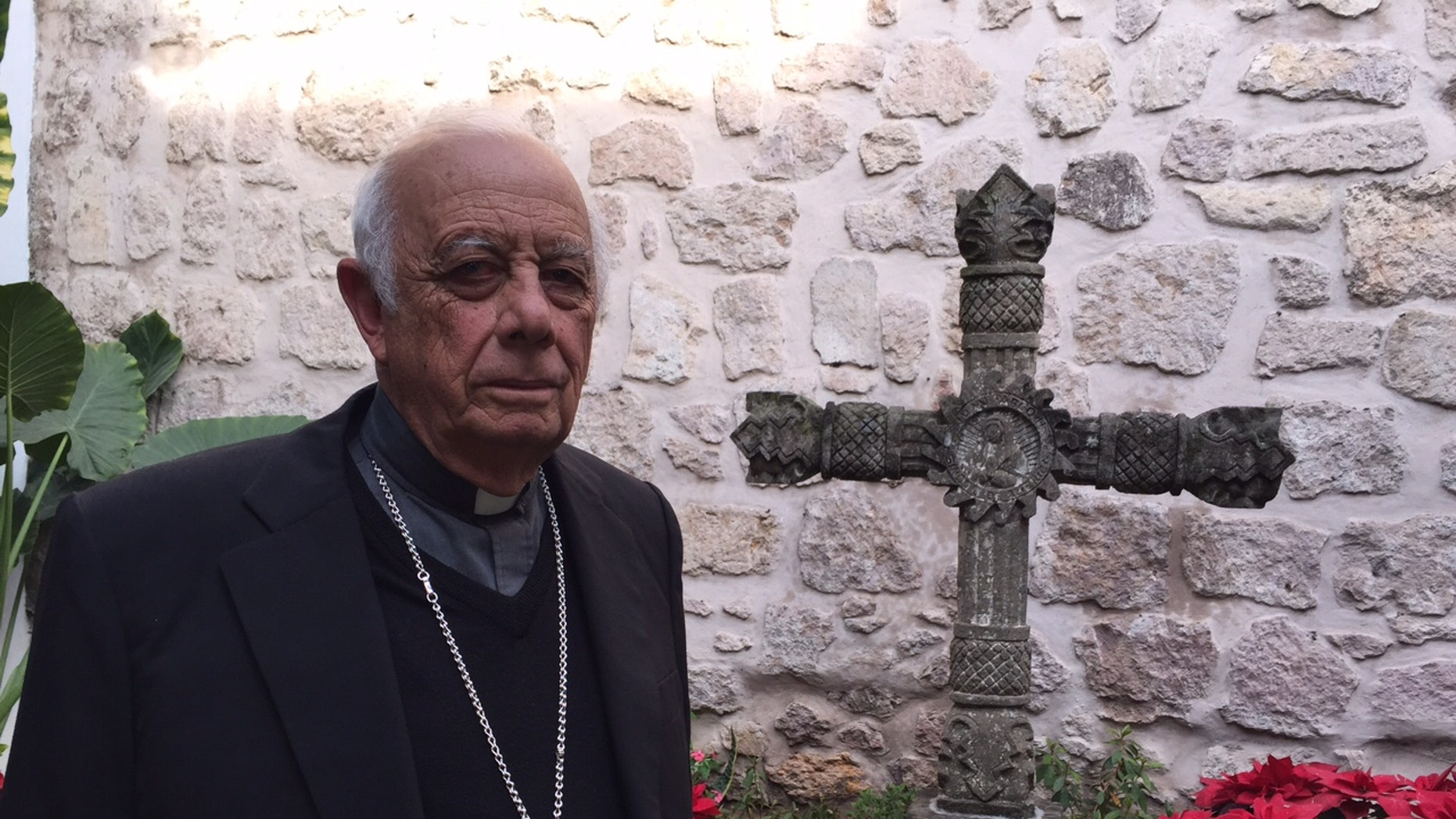Cardinal-designate Alberto Suarez Inda of Morelia, Mexico lives in a place that has been wracked by drug cartel violence.