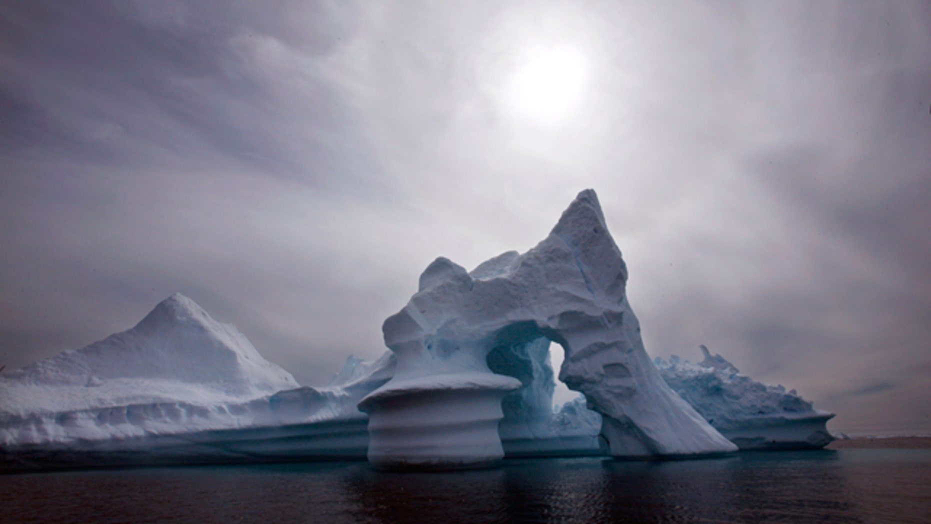 An iceberg off Ammassalik Island in Eastern Greenland. A leaked government document, its authenticity confirmed by the Danish government on Tuesday, shows Denmark plans to lay claim to the North Pole and other areas in the Arctic, where melting ice is uncovering new shipping routes, fishing grounds and drilling opportunities for oil and gas.