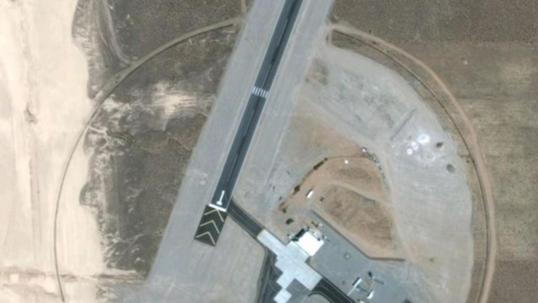 Satellite images of Area 6