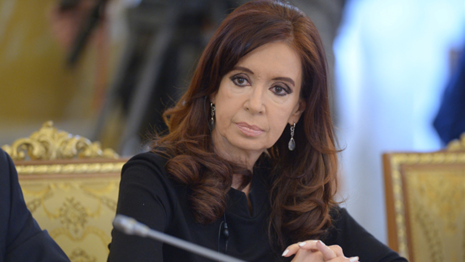 Argentinean President Cristina Fernández de Kirchner. (Photo by Grigoriy Sisoev/Host Photo Agency via Getty Images)
