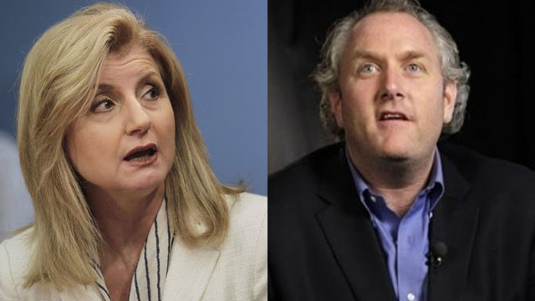 Arianna Huffington's Huffington Post issued an apology to Andrew Breitbart Tuesday (Reuters/AP)