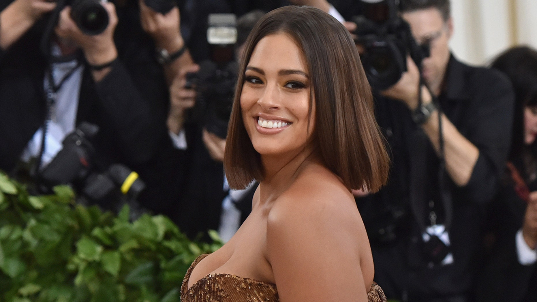 Ashley Graham schooled an Instagram commenter this week after sharing a series of racy snaps on the social media platform.