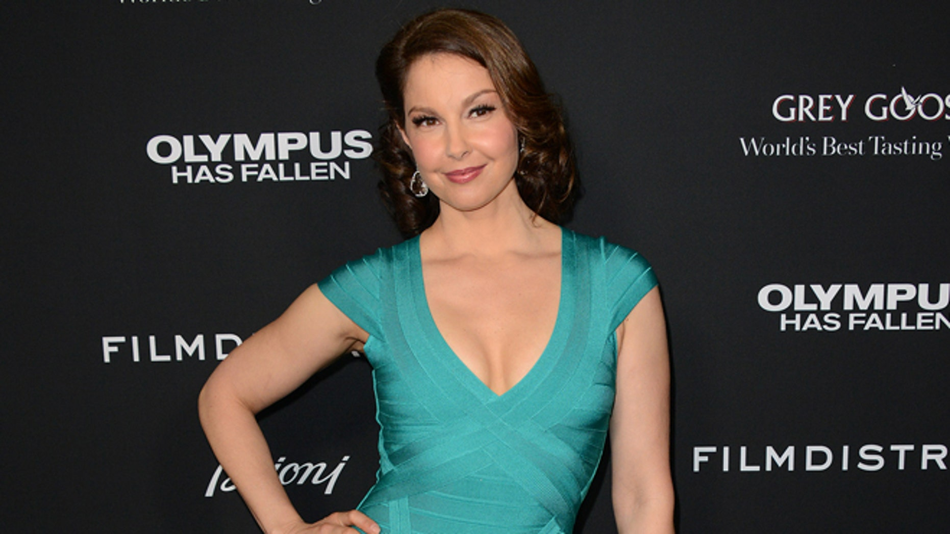 "March 18, 2013: Ashley Judd arrives at the LA premiere of ""Olympus Has Fallen"" at the ArcLight Theatre in Los Angeles."