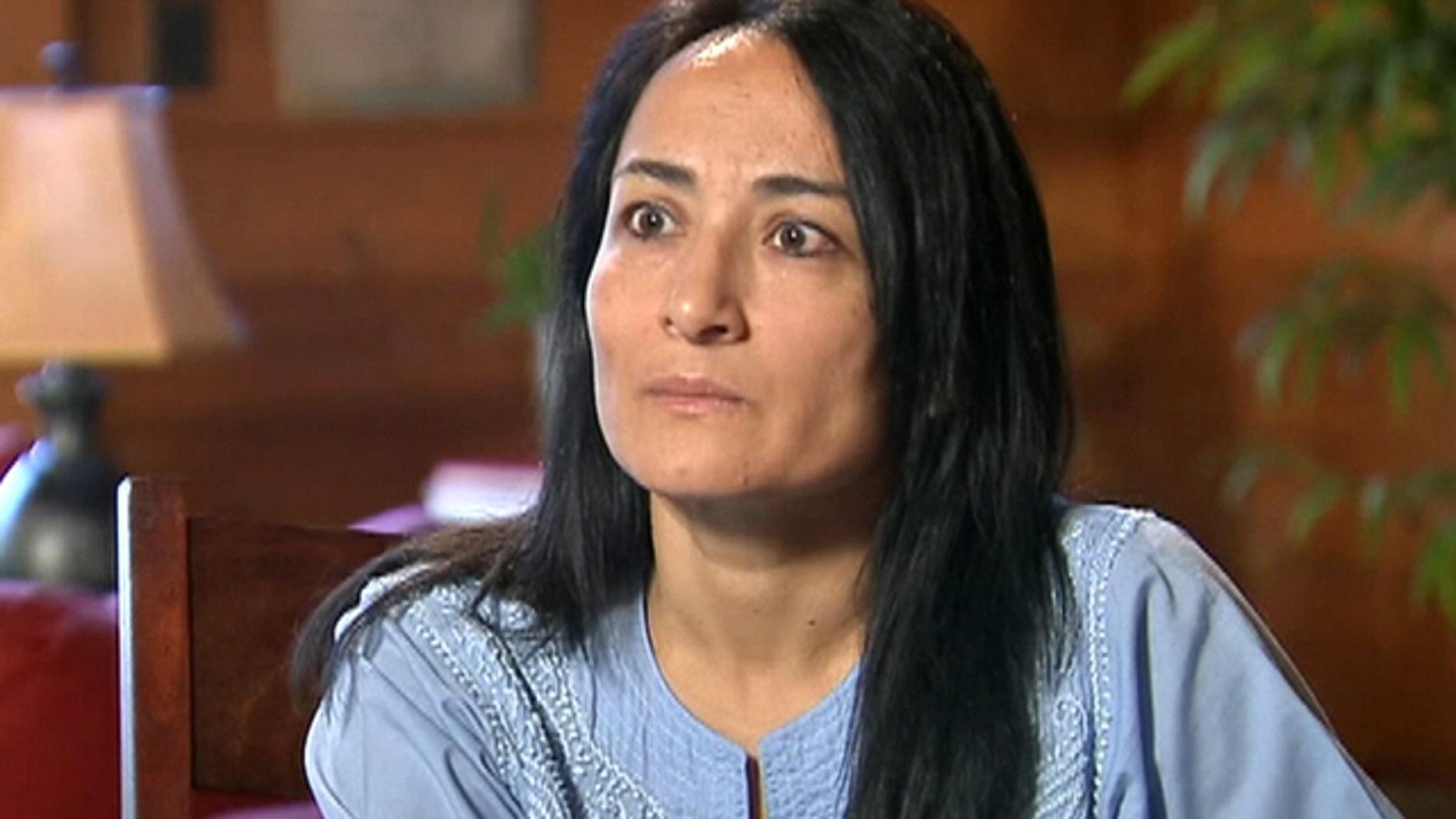 March 12, 2012: Journalist Asra Nomani is interviewed in suburban Washington.