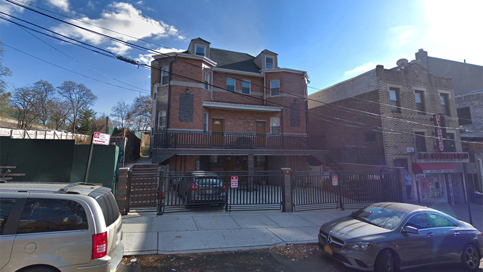 "A 64-year-old grandmother was found dead with ""traumatic injuries to her back"" in her residence at 2802 8th Street in Astoria, Queens, police said."