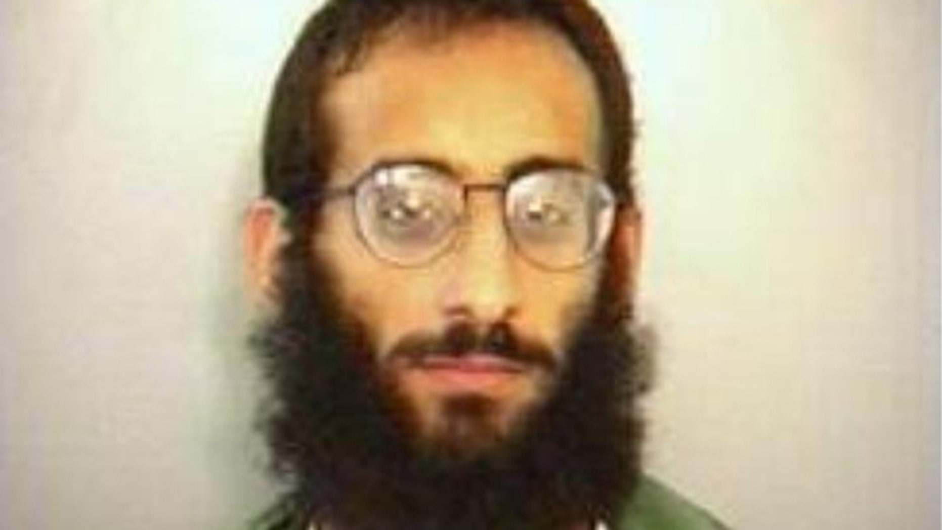 April 1997: Anwar al-Awlaki's booking photo for soliciting a prostitute.