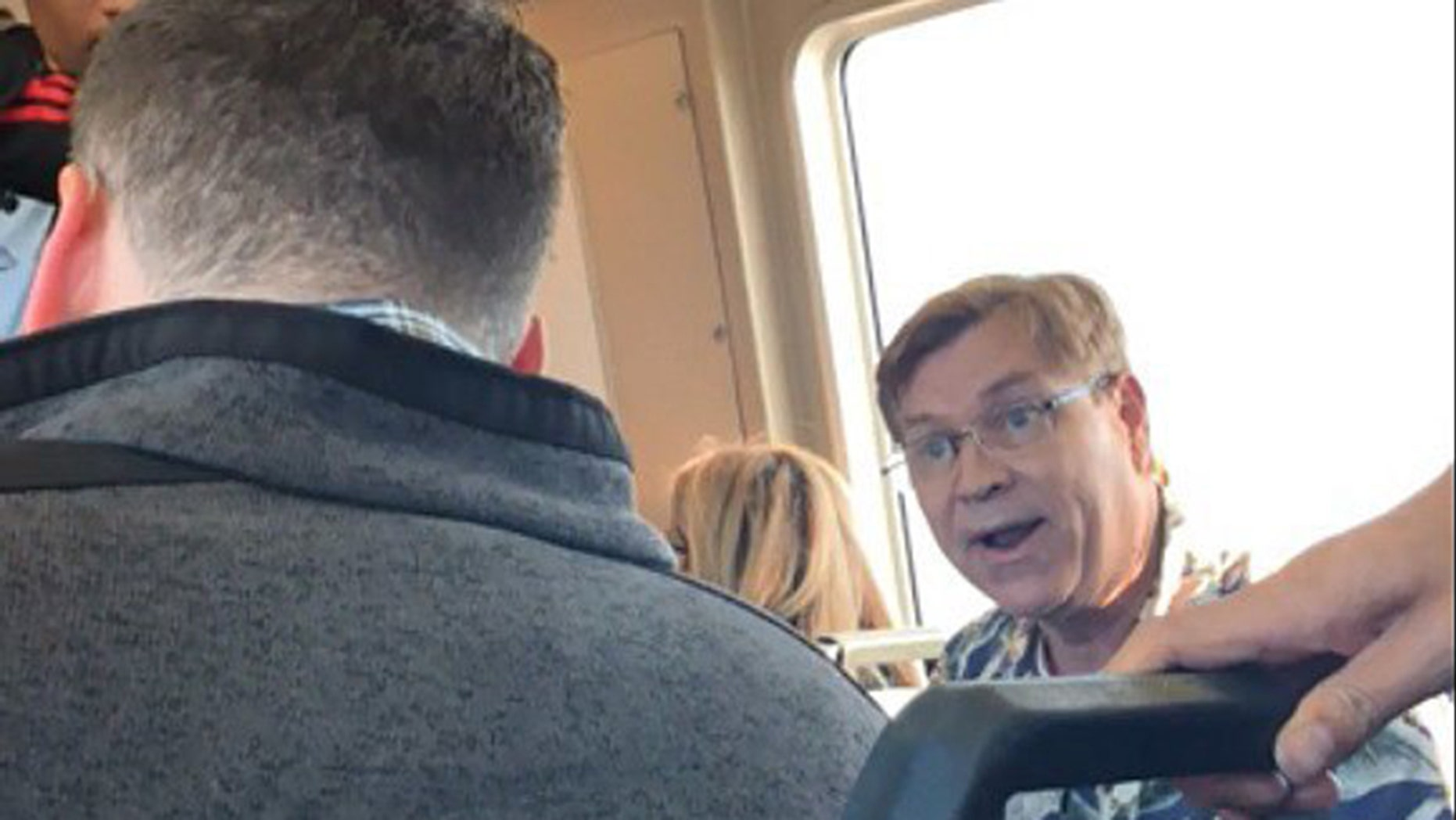 A video of the passenger confronting a fellow rider about his burrito has received mixed reviews.