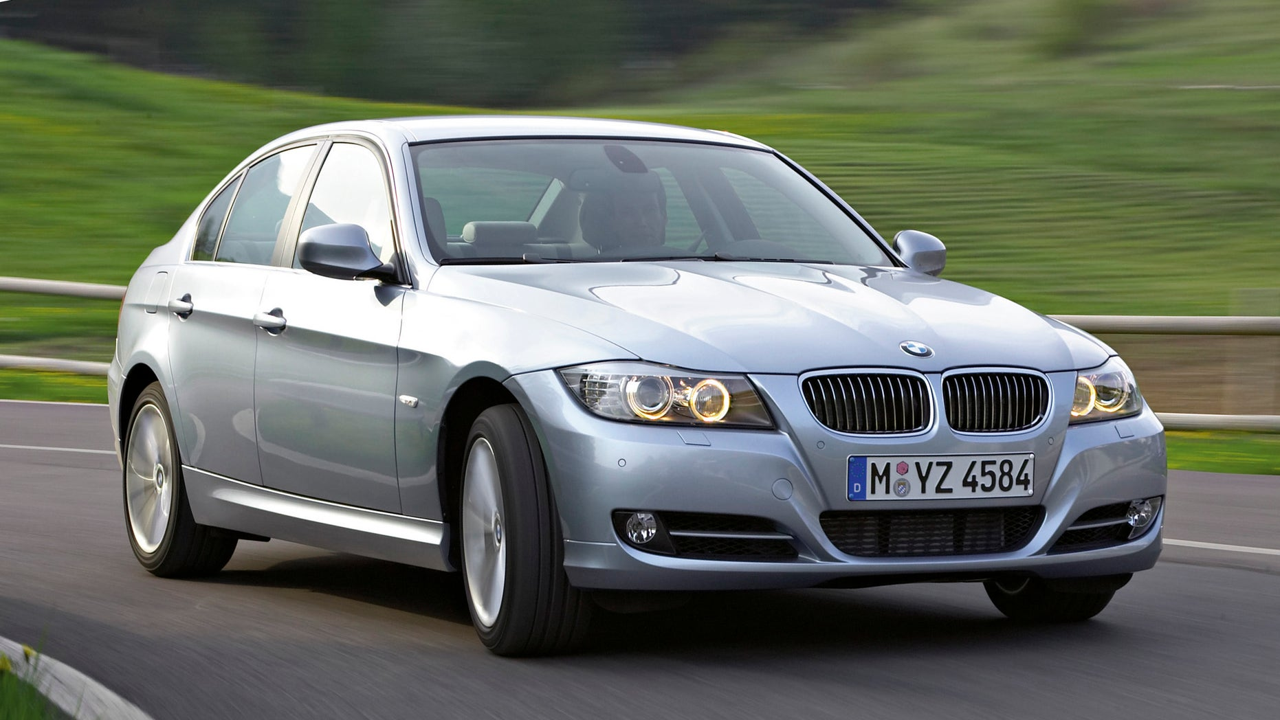 FILE - This undated photo provided by BMW AG shows the 2009 BMW 3-Series sedan. BMW is recalling almost 570,000 cars in the U.S. and Canada because a battery cable connector can fail and cause the engines to stall. The recall affects popular 3-Series sedans, wagons, convertibles and coupes from the 2007 through 2011 model years. Also included are 1-Series coupes and convertibles from 2008 through 2012, and the Z4 sports car from 2009 through 2011. (AP Photo/BMW)
