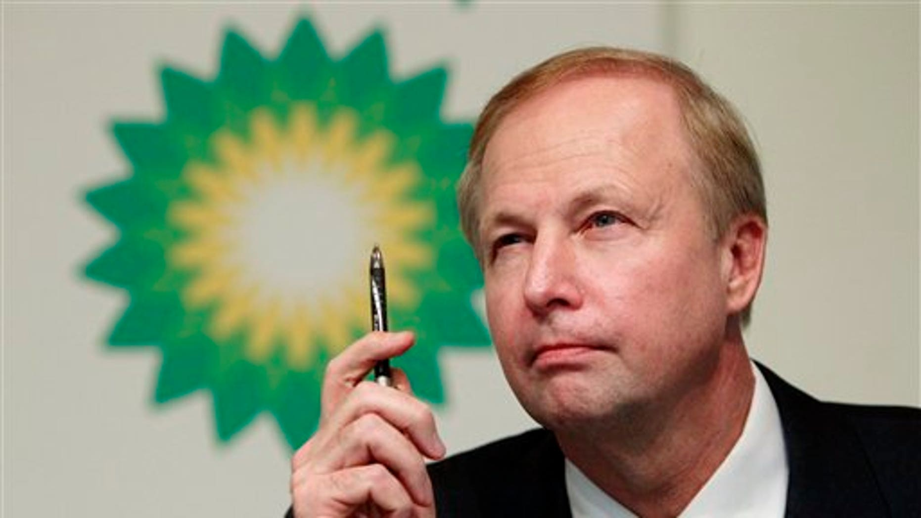 Nov. 2, 2010: BP PLC Chief Executive Bob Dudley speaks at a news conference in London. Dudley, who grew up in Mississippi and was the first American ever to lead the British company, took over in October after Tony Hayward was ousted.