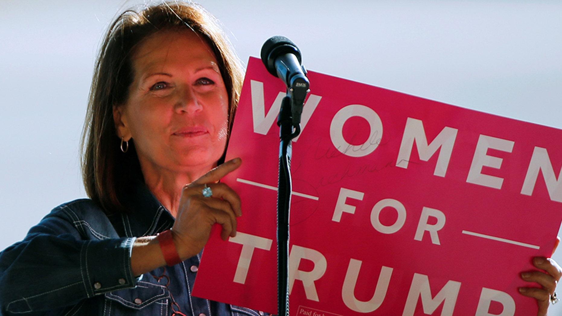 Former House Rep. Michele Bachmann said Monday that she won't run for U.S. Senate, despite previous suggestions she might run for former Sen. Al Franken's seat.