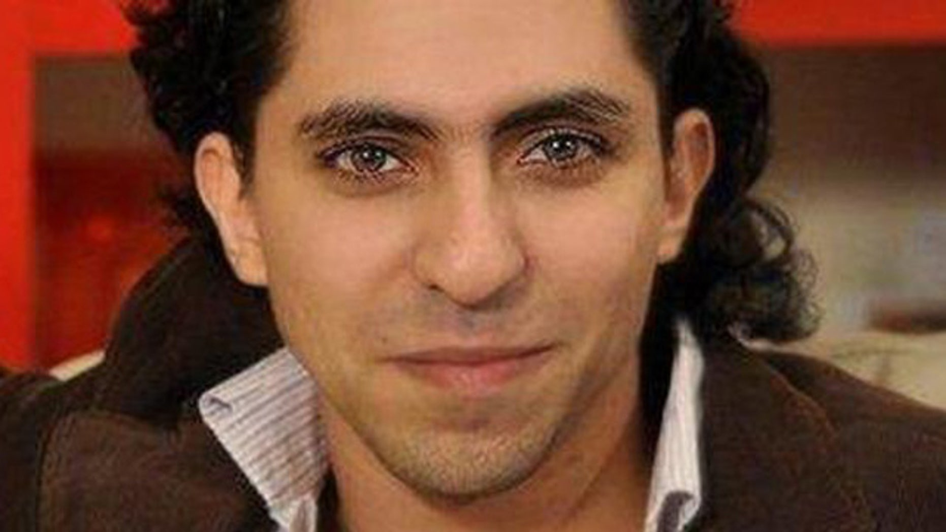 Raif Badawi, a Saudi website founder and blogger.