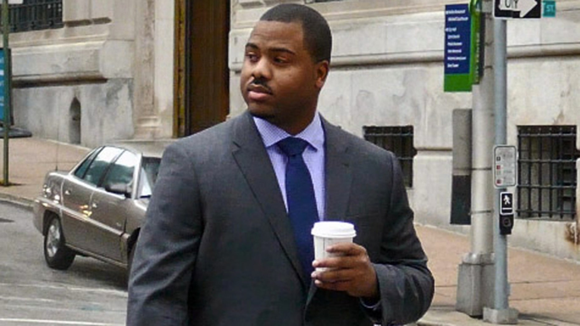 Baltimore City police officer William Porter is one of six Baltimore police officers charged in the death of Freddie Gray.