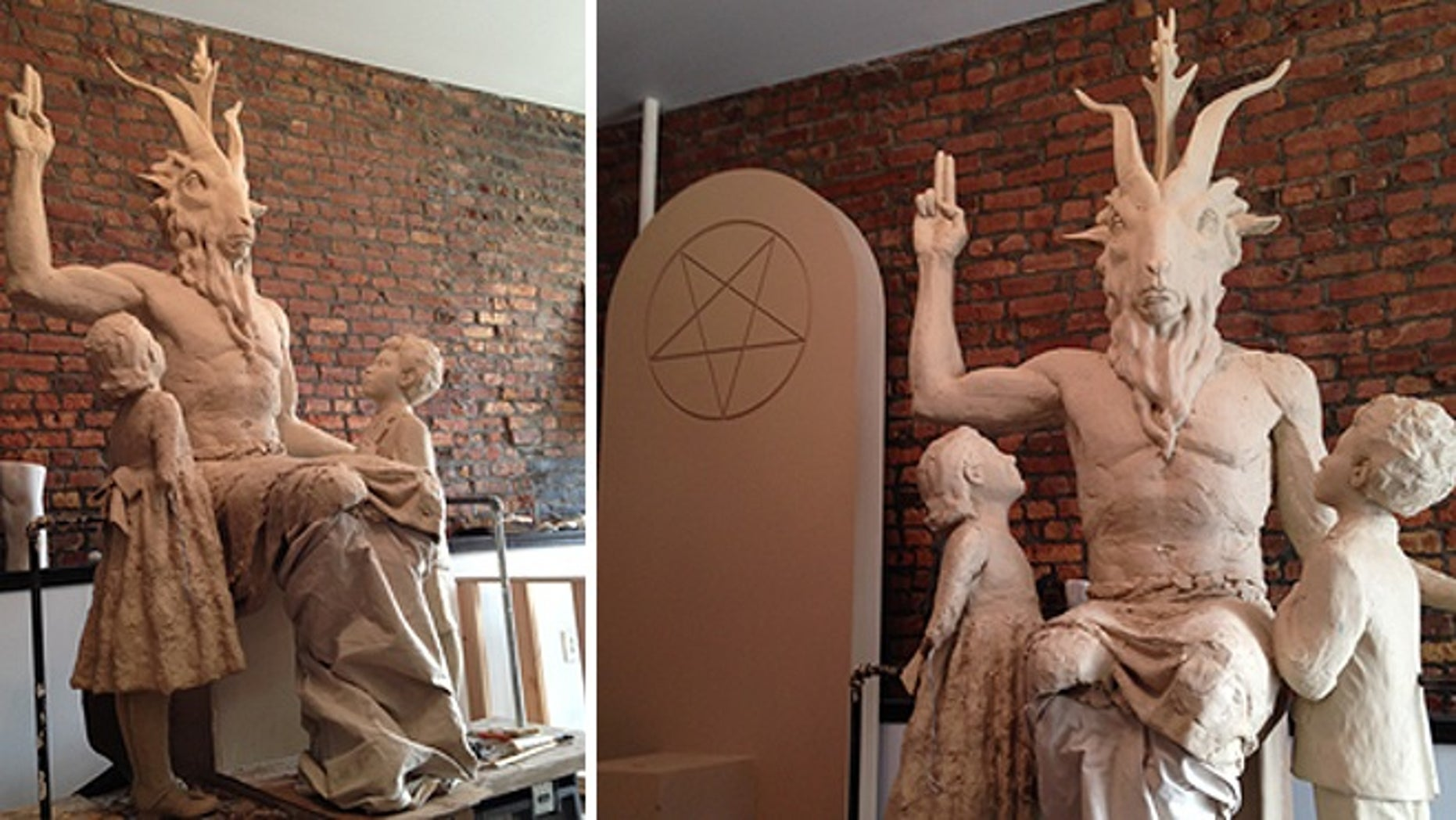 Oklahoma officials have no intention of allowing this statue of Satan to be placed on the Statehouse lawn.