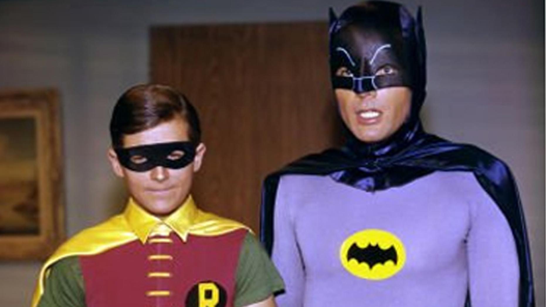 Robin and Batman.