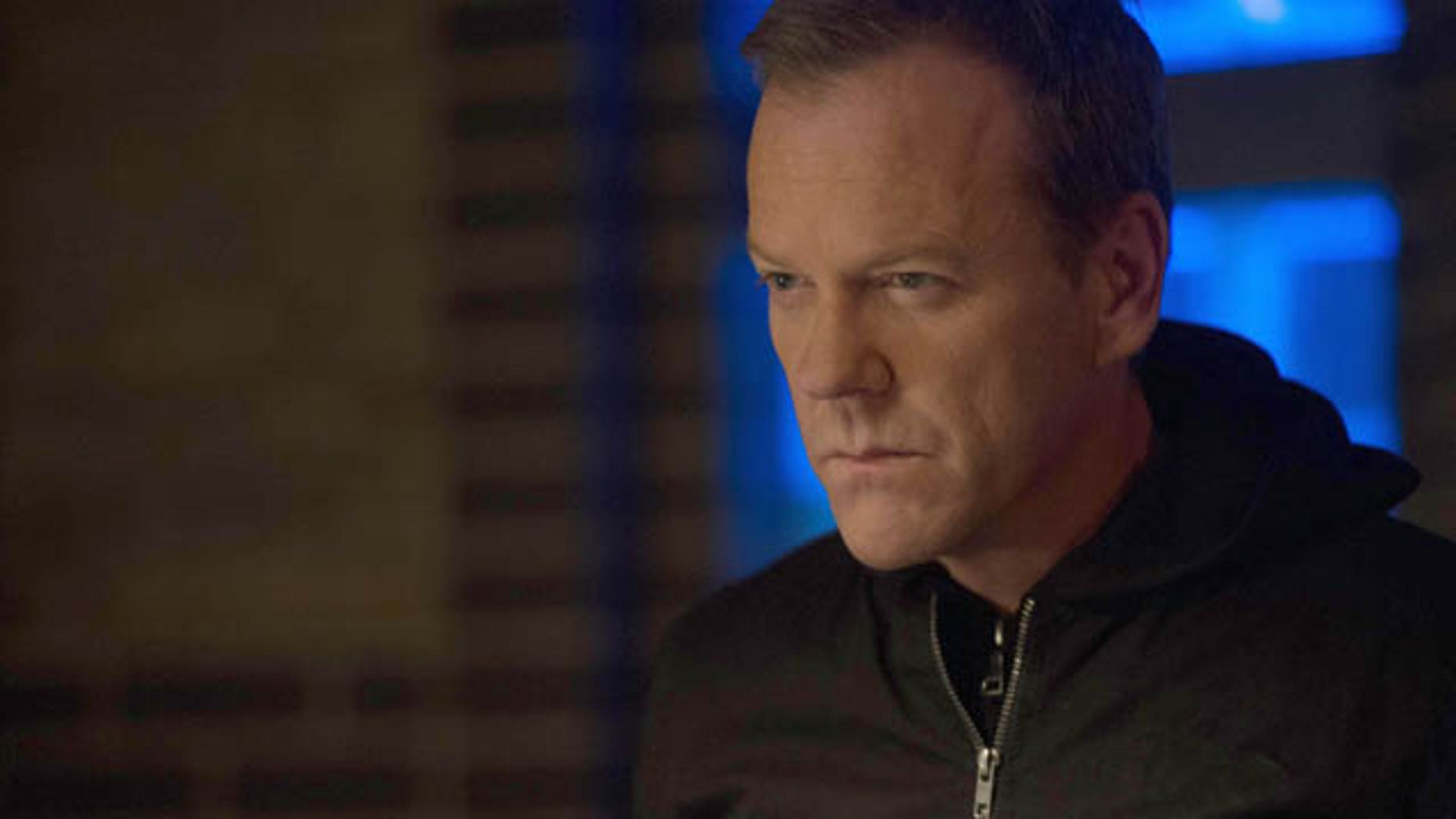 Kiefer Sutherland as Jack Bauer on '24,' which marked its 200th episode Monday. (Courtesy Fox Broadcasting)