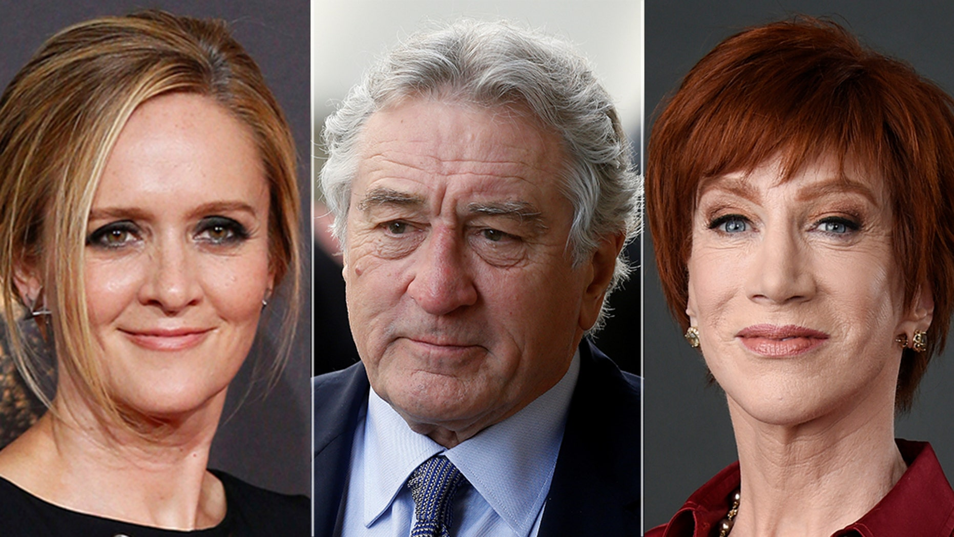 Samantha Bee, Robert De Niro and Kathy Griffin have famously used profanity to attack President Trump.