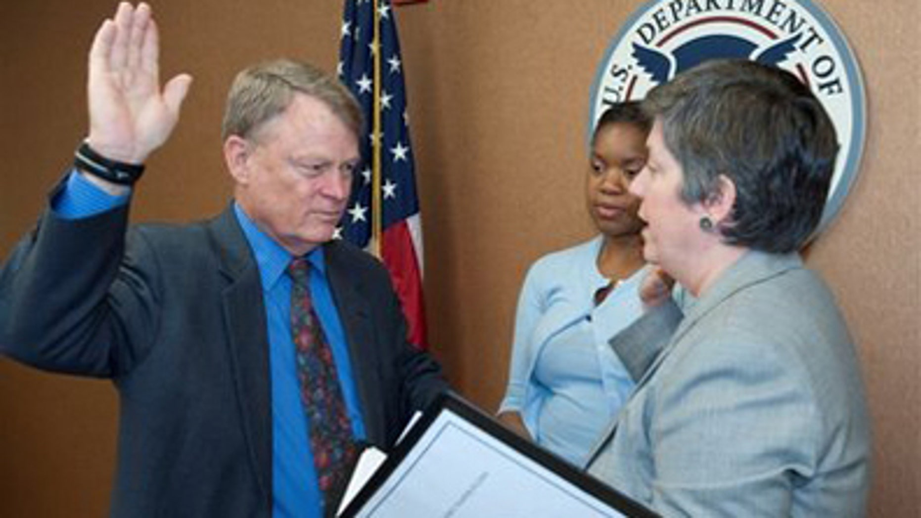 July 8:2009: Rand Beers is sworn in as under secretary for the National Protection and Programs Directorate
