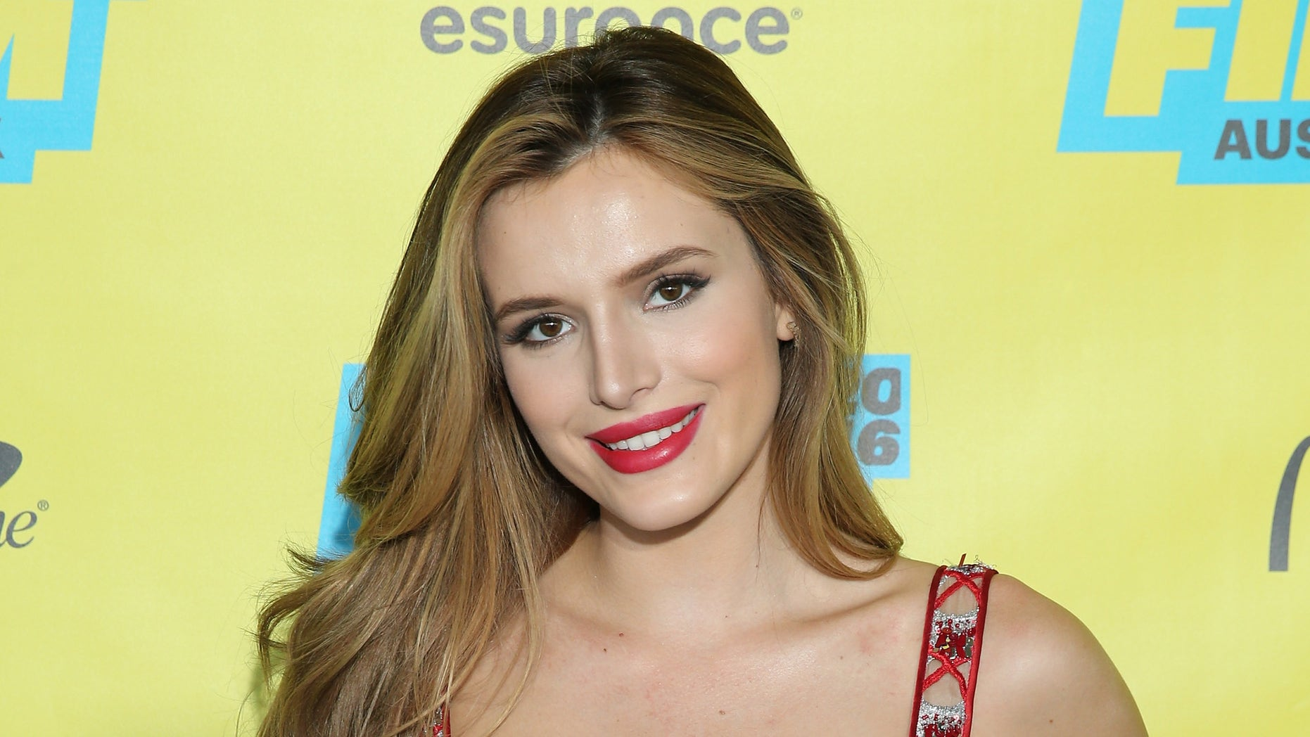 "AUSTIN, TX - MARCH 14:  Actress Bella Thorne attends the ""Shovel Buddies"" premiere during 2016 SXSW Music, Film + Interactive Festival at Topfer Theatre at ZACH on March 14, 2016 in Austin, Texas.  (Photo by Neilson Barnard/Getty Images for SXSW)"