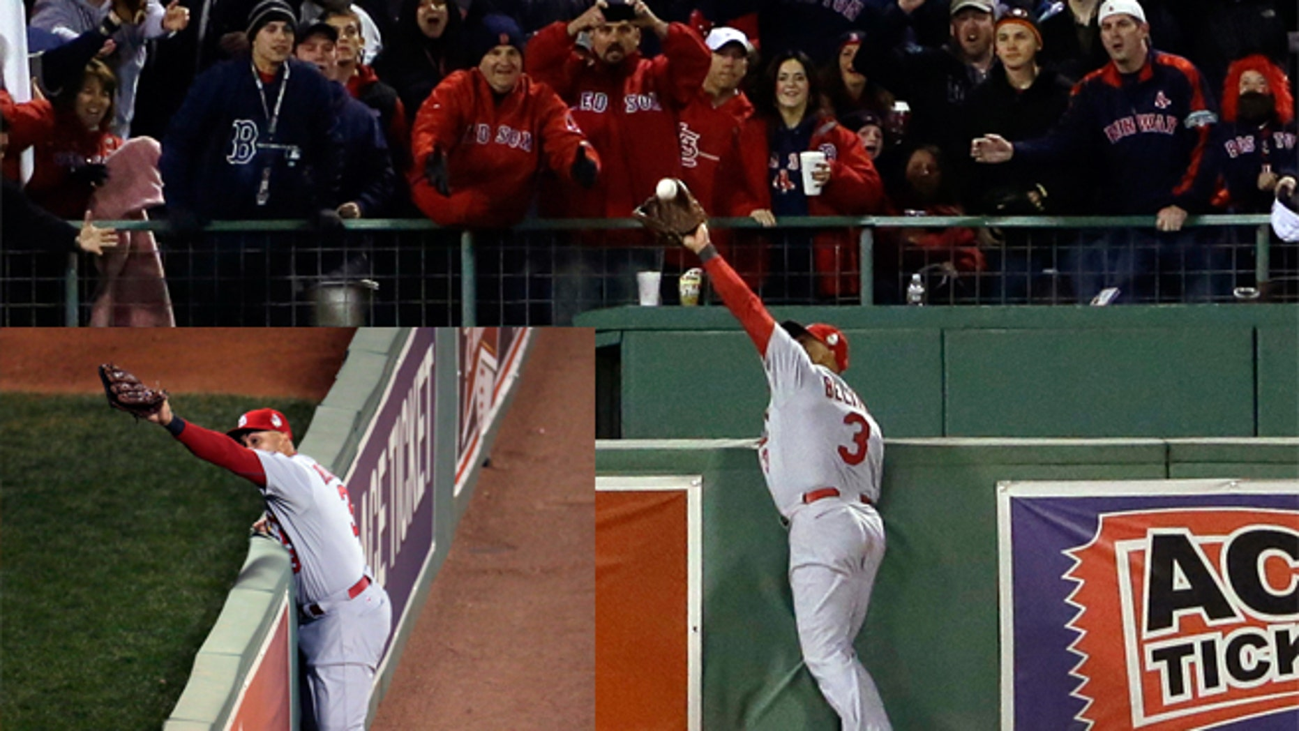 World Series Cardinals Carlos Beltran Injured After