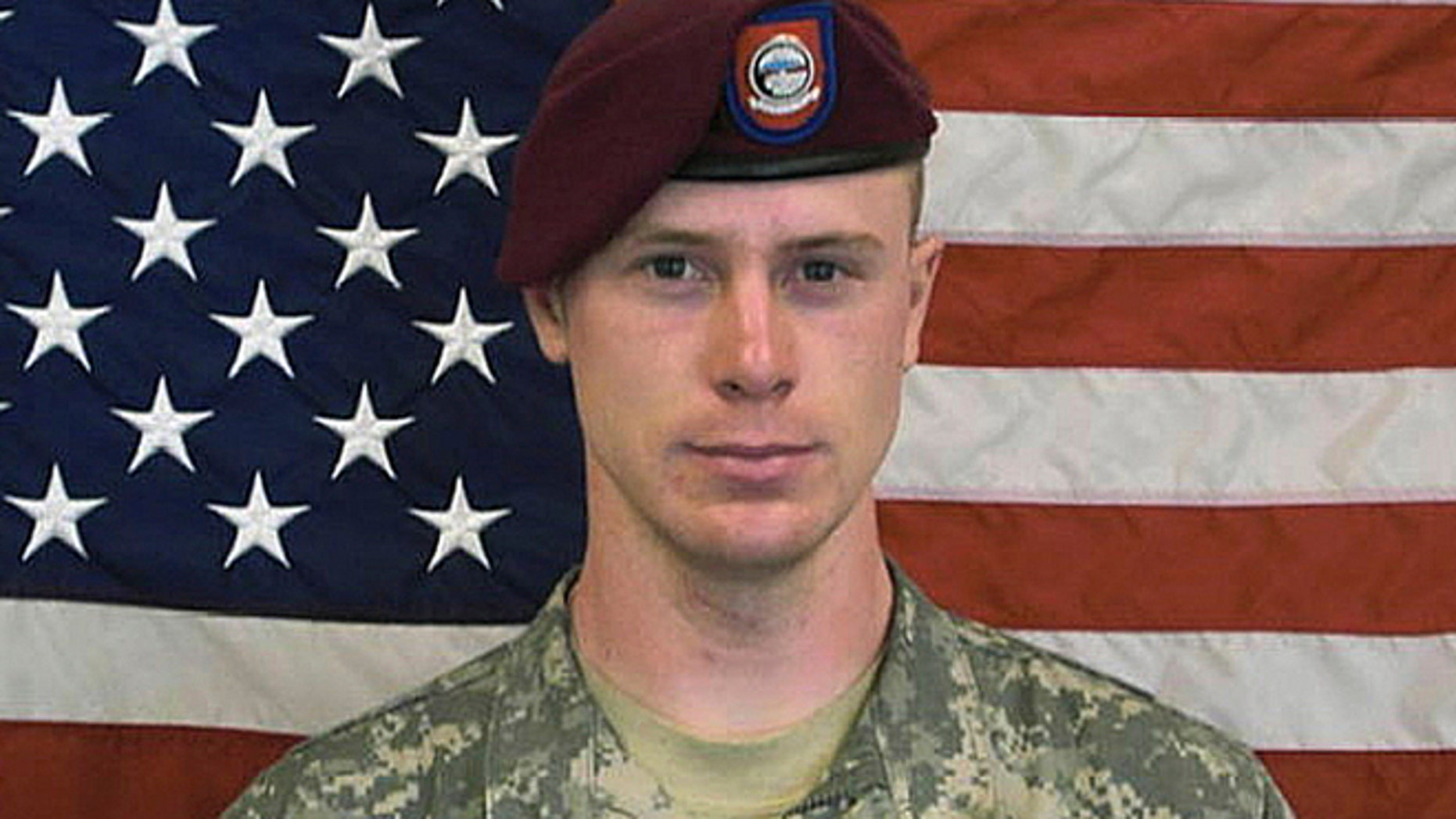 This undated file image provided by the U.S. Army shows Sgt. Bowe Bergdahl.