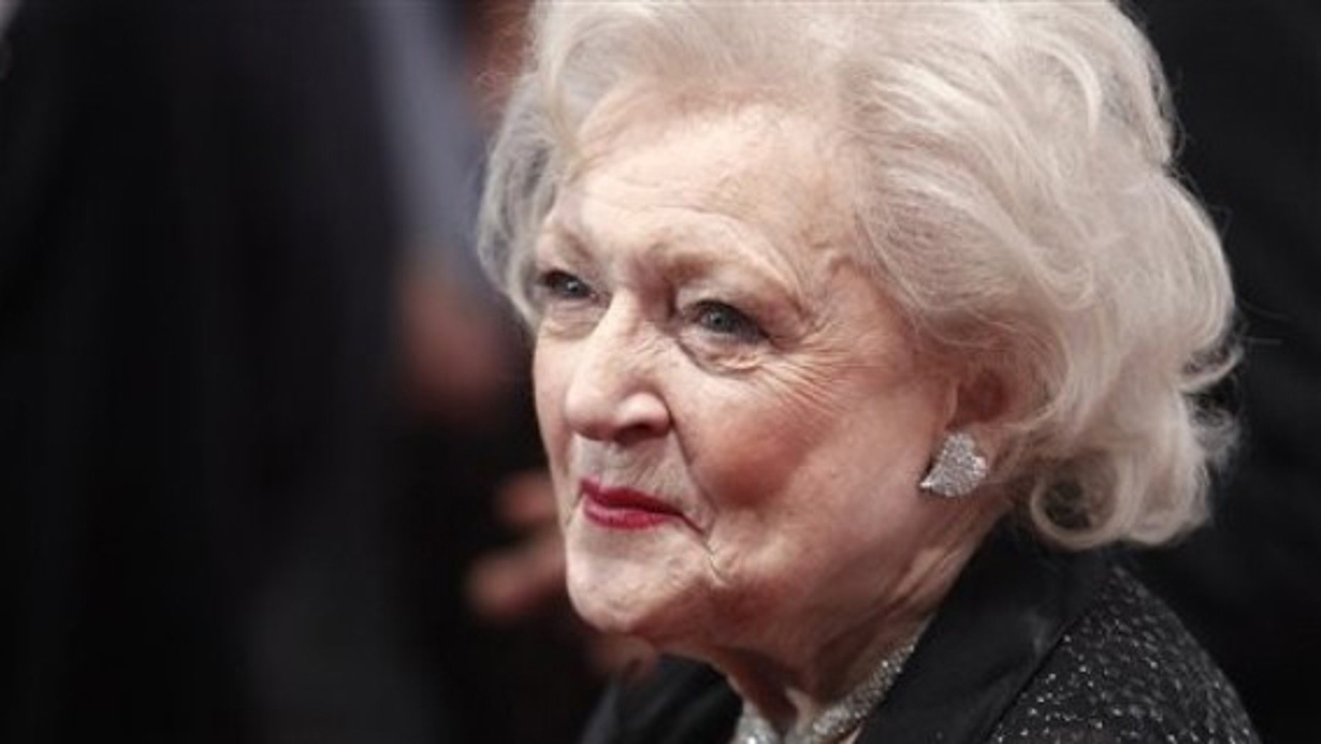 """Actress Betty White attends the TV Land screening of """"Hot in Cleveland"""" in New York, Monday, June 14, 2010. (AP Photo/Peter Kramer)"""