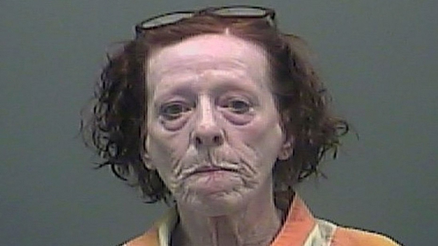An Alabama woman was arrested after setting a ham on fire at a motel where she was living.