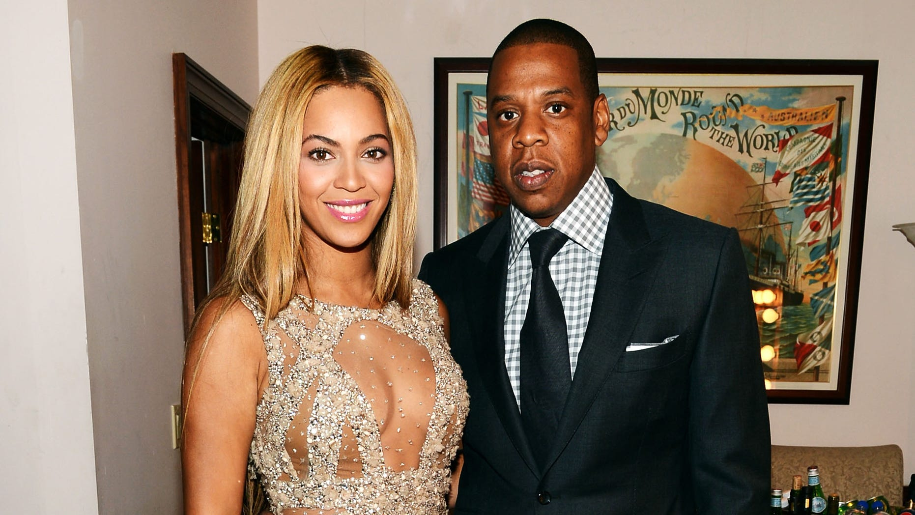 Beyonce and Jay-Z in New York City, in February 2013.